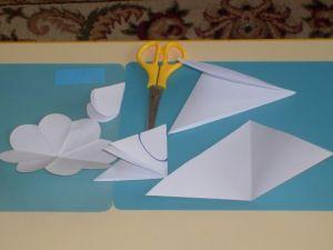 поделки из цветной бумаги цветы 1