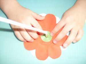 поделки из цветной бумаги цветы 6