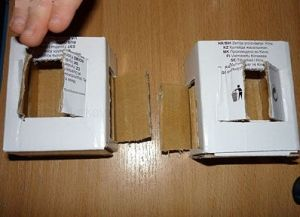 поделки из картона домик 3