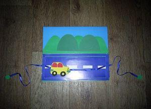 поделки из картона машины 5