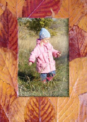 поделки из листьев 11