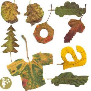 поделки из листьев 3