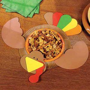 поделки из одноразовых тарелок 29