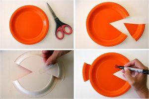 поделки из одноразовых тарелок 39