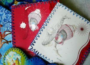 поделки из открыток своими руками22