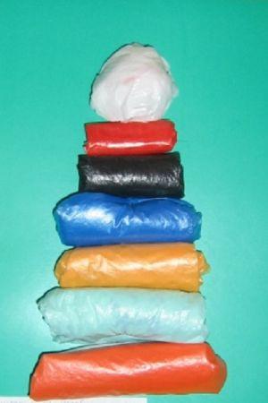 поделки из полиэтиленовых пакетов 40