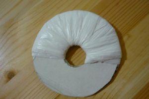 поделки из полиэтиленовых пакетов 9