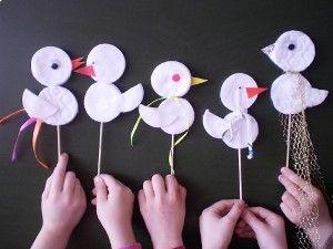 Поделка ко дню птиц