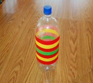 подвесные вертушки из бутылок 21