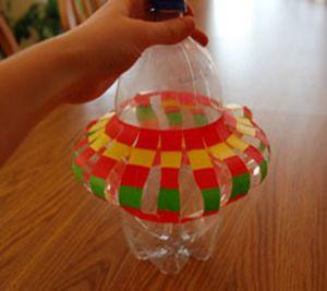 подвесные вертушки из бутылок 6