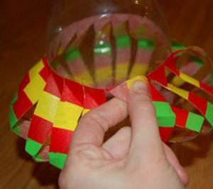 подвесные вертушки из бутылок 7