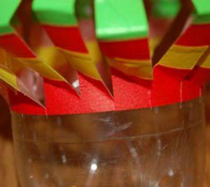 подвесные вертушки из бутылок 8