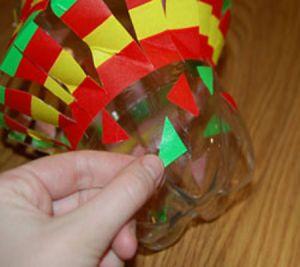 подвесные вертушки из бутылок 9