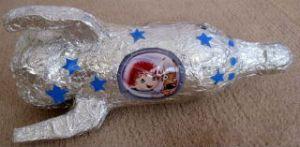 Как сделать ракету из бутылки