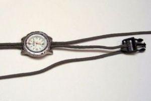 ремешок для часов своими руками 2