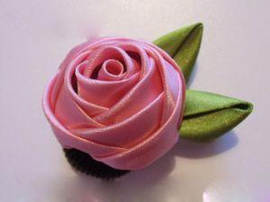 Сделать розы из ткани своими руками