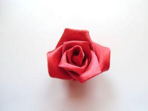 розы из ткани своими руками48