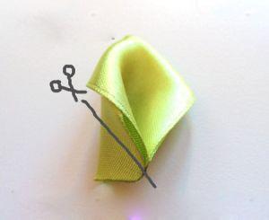 розы из ткани своими руками52