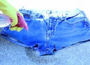 рваные джинсовые шорты своими руками 4