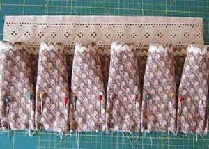 шкатулка из ткани своими руками 7