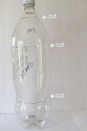 сова из пластиковых бутылок16