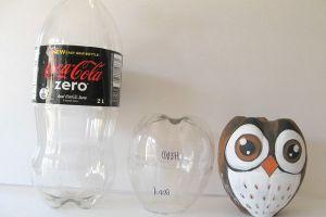 сова из пластиковых бутылок18