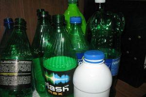 сова из пластиковых бутылок20