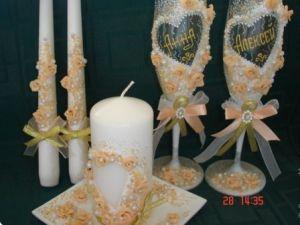 свадебные свечи своими руками28