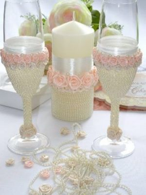 свадебные свечи своими руками32