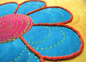 техника вышивки бисером 27