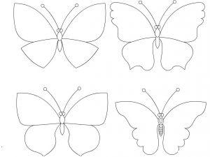 Бабочки на бумаги на стену своими руками трафареты для фото 542