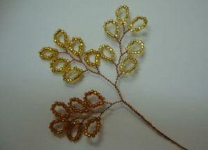 осеннее дерево из бисера4