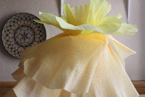 Большие цветы из гофрированной бумаги29