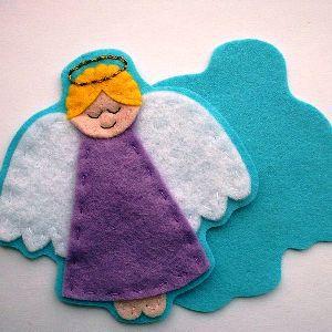 Ангел из фетра10