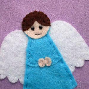 Ангел из фетра15