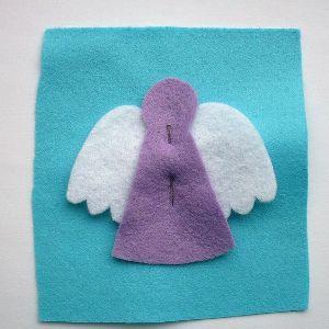 Ангел из фетра2