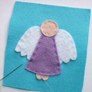 Ангел из фетра5