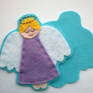 Ангел из фетра9