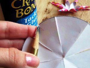 Как сделать бантик из бумаги9