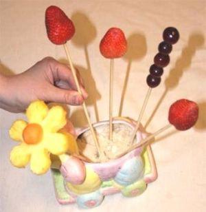 Букет из фруктов13