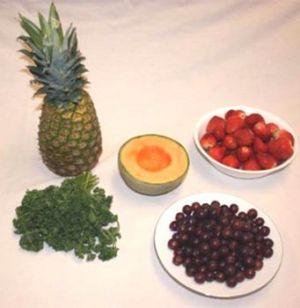 Букет из фруктов3
