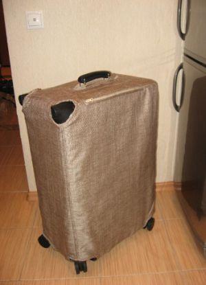 Чехол для чемодана своими руками10