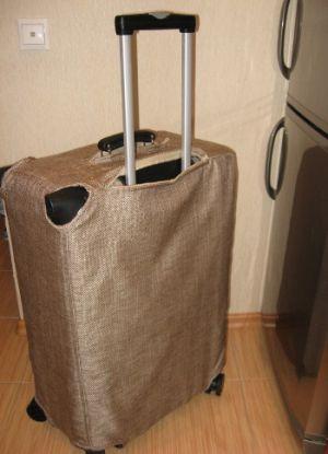 Чехол для чемодана своими руками11
