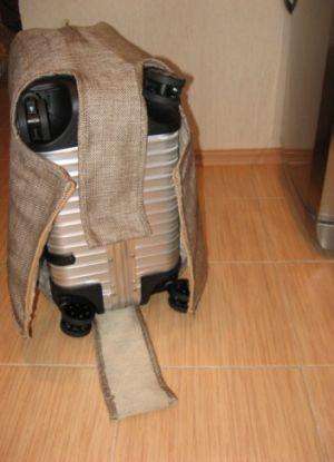 Чехол для чемодана своими руками5