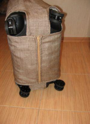 Чехол для чемодана своими руками6