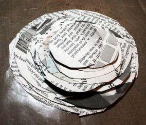 Как сделать из газеты корзину для газета