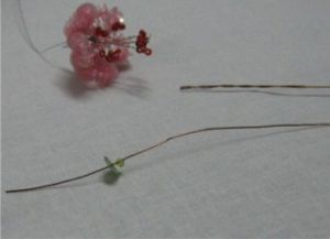 Цветы из паеток10