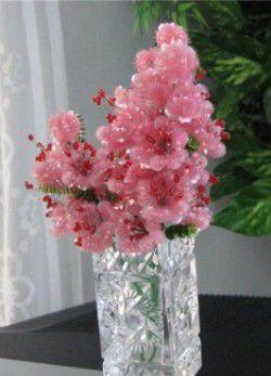 Цветы из паеток14