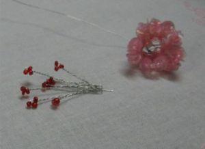 Цветы из паеток8