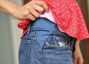 Джинсы для беременных своими руками40
